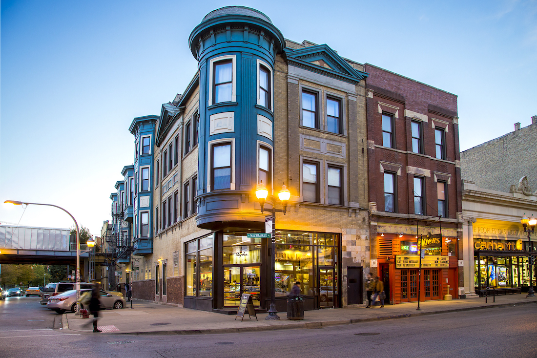 Exterior View of 1514 N Milwaukee