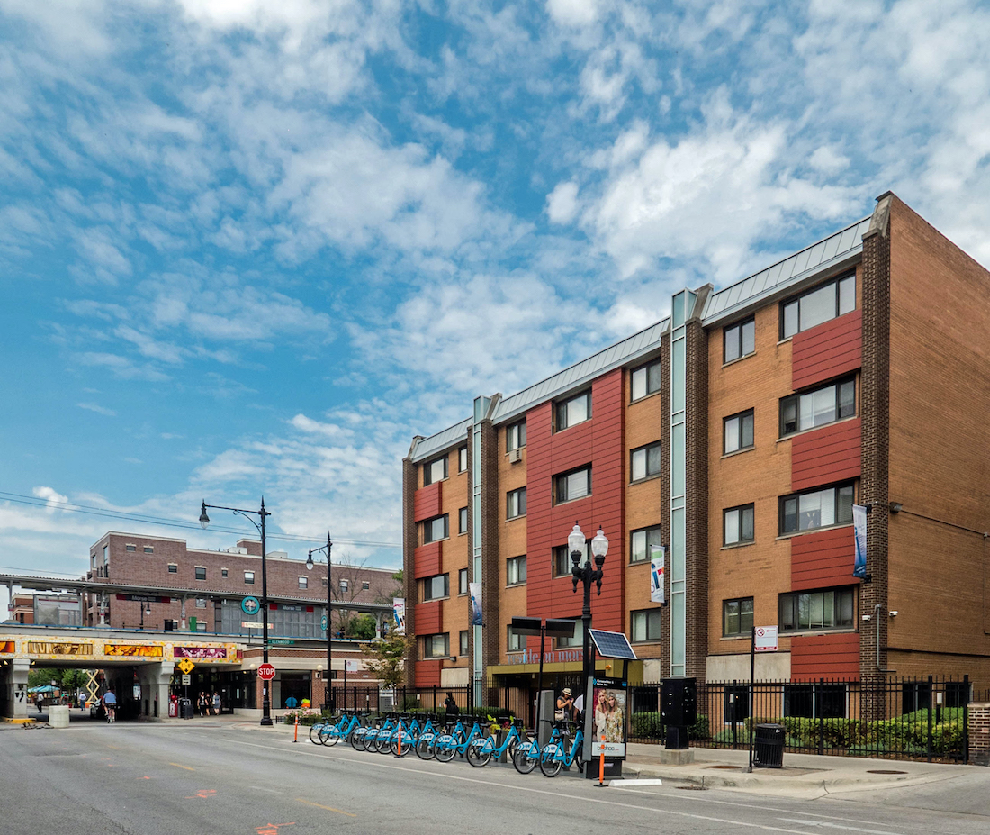 Reside oN Morse apartments, Rogers park