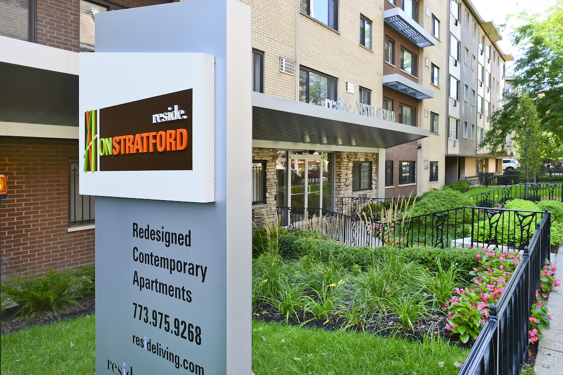 Reside on Stratford apartments, Lakeview